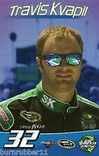 "2014 TRAVIS KVAPIL ""S&K TOOLS GO GREEN"" #32 NASCAR SPRINT CUP B/B POSTCARD"
