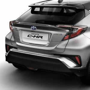 Genuine Toyota C-HR CHR Rear Bumper Protection Plate PW178-10001 Moulding New