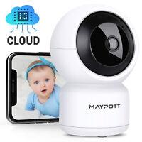 Wireless Wifi Camera Baby Monitor Detection 2 Way Audio IR Night Vision Temperat