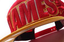 Calgary Flames Mitchell & Ness (NZ936 MTC 7FLAME) Wordmark Snapback Hat