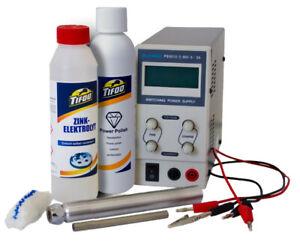 E-zinco penna, impianto per la galvanizzazione, elettrolita di zinco, RE-zinco
