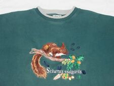 *BEST COMPANY PULLOVER*SCIURUS VULGARIS*ANIMAL*EQUIPMENT GRÜN*GR: XL*TIP TOP