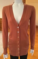 New J.Crew Classic 100% Merino Wool Long Sweater Cardigan/S