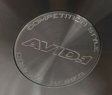 AVID.1 Wheels SILVER COMPETITION STYLE CONCAVE SERIES CENTER CAP AV-50 AV-52