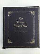 Very Nice Thomason Medallic Bible Franklin Mint 60 Bronze Medals in Book