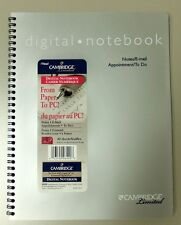 12-PACK Cambridge Limited Digital Notebook (40 Sheets) for Logitech io/io2 Pen