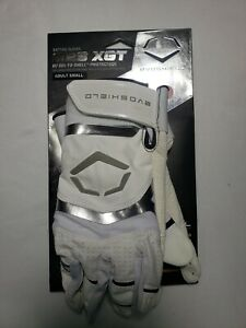 Evoshield G2S XGT Adult Small Batting Gloves White Gel To Shell Technology NEW