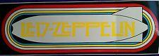 "☆Buy 1---- 3"" x 9"" Bold Led Zeppelin Bumper Sticker-One Low Price!!☆"