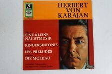 Mozart Haydn Liszt Smetana Herbert von Karajan Berliner Philharmoniker (LP31)