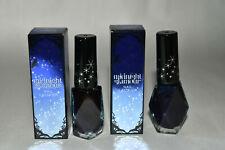 2x NIB Victoria's Secret Nail Polish Lacquer - Midnight Glamour .24 oz