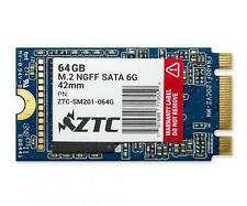 64GB ZTC Armor 42mm M.2 NGFF 6G SSD Solid State Disk- ZTC-SM201-064G