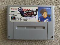 Super Formation Soccer '94 cartridge for Nintendo Super Famicom / SNES (NTSC-J)