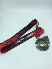 2020 Spartan 5K 20 Obstacles Race Sprint Finishers Medal Trifecta Wedge