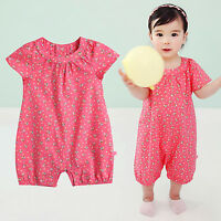 "NWT Vaenait Baby Toddler Girls Flower Bodysuit Clothes Outfit /""Ashley/"" 0-24M"