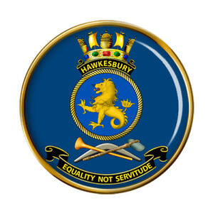 HMAS Hawkesbury Royal Australian Navy Pin Badge