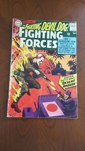 Our fighting forces #96. DC. November 1965. Low Grade Copy.est VG-