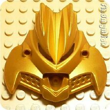 BP6 Lego Bionicle Mask Olmak - Metallic Gold - RARE ( Wide around 58mm ) NEW