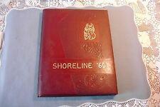 """Glen Head NY """" SHORELINE """" North Shore Junior High School yearbook 1960"""