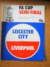 30/07/1974 - FA Cup Semi-Final: Leicester City v Liverp