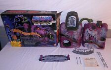 1983 Snake Mountain Complete With Box Vintage MOTU Castle Playset