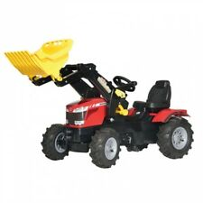 RollyToys Massey Ferguson 8650 TRATTORE Trettraktor Rosso Veicolo per bambini