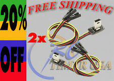2X GoPro Hero 3 FPV Transmitter Video Output AV USB Cable & Power Lead DJI USA