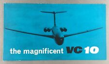 VC10 MANUFACTURERS SALES BROCHURE VICKERS BAC 1964 - THE MAGNIFICENT VC10