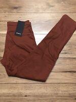 "Lululemon Commission Pant Classic 34""Lenght DKTE Dark Terracota size 31 New"