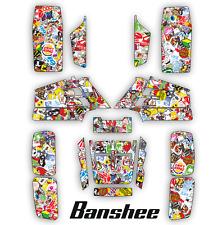 Decals YFZ Yamaha Banshee full graphics kit  [ 545 STICKER BOMB ]