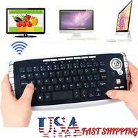 Mini 2.4Ghz Wireless Keyboard Touchpad With Mouse For PC PS4 Smart TV Andriod