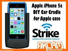 STRIKE ALPHA APPLE IPHONE 5C CAR CRADLE FOR APPLE CASE DIY BUILT-IN FAST CHARGER