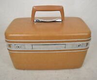 Vintage Samsonite Silhouette Travel Train Case Makeup Cosmetic Luggage