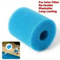 For Intex Type H Washable/Reusable Swimming Pool Filter Foam/Sponge Cartridge
