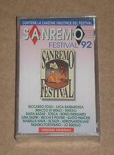 SANREMO FESTIVAL '92 (MATIA BAZAR, RICCHI E POVERI) - MUSICASSETTA MC SIGILLATA
