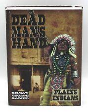 Dead Man's Hand CDMH009 Plains Indians (Boxed Gang) Old West Native Warriors NIB