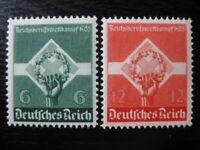 THIRD REICH 1935 mint Occupation Competition stamp set!