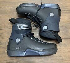 Valo V13 AB Midnight Sz US10 Aggressive Inline Skates Boot Only + Extra Parts!