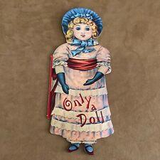 Only A Doll Book Merrimack Publishing Helen Marion Burnside shape victorian
