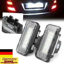 LED Kennzeichenbeleuchtung für Mercedes Benz C E CLS SLK Class W203 W219 W211 ne