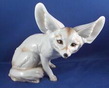 Early Augarten Porcelain Fennec Desert Fox Figurine Figure Porzellan Figur Wien