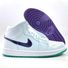 Nike Air Jordan 1 Mid SE Luka Doncic Mindfulness White Purple Green Men's 8-13