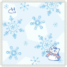 Movic Natsume Yuujinchou Nyanko Sensei Wash Mini Hand Towel Playing With Snow