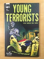 BLACK MASK Comics YOUNG TERRORISTS #1 Hastings VARIANT NM (9.4) Ships FREE!