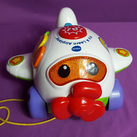 VTech Fly & Learn Airplane Lights Music Educational Interactive Baby Toy Plane