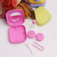 5 Colors Mini Contact Lens Travel Kit Case Pocket Size Storage Holder Container