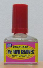Mr Paint Remover 40ml GSI Gunze Mr Hobby GN T114 Brand New In Bottle