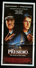 DAYBILL MOVIE POSTER - ORIGINAL - THE PRESIDIO  Sean Connery, Mark Harmon