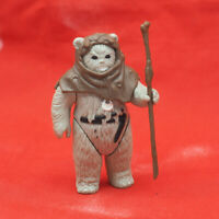 Vintage Star Wars Chief Chirpa Action Figure w/ Staff