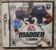 Nintendo DS Madden 2005 (Manual, box and game)