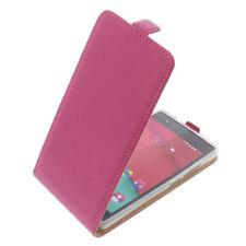 Custodia Per Wiko Pulp 4G Cellulare Modello Flip Protettiva Case Fucsia
